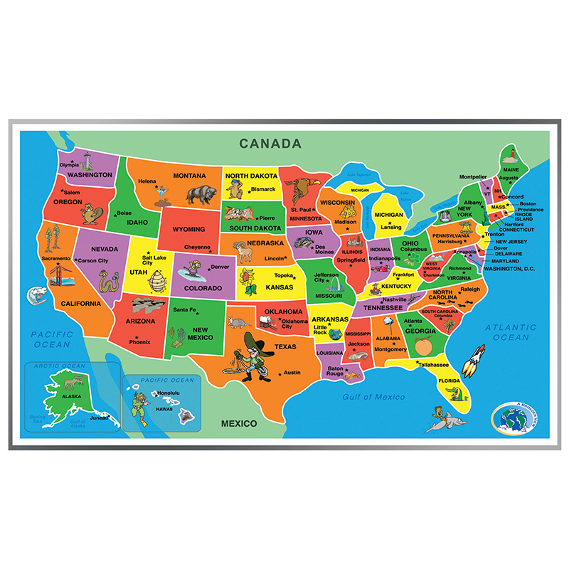 Image for Kids Puzzle of the USA