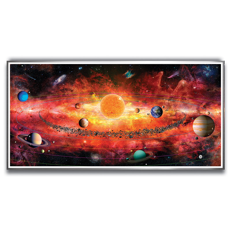 Image for The Solar System, 500-Piece