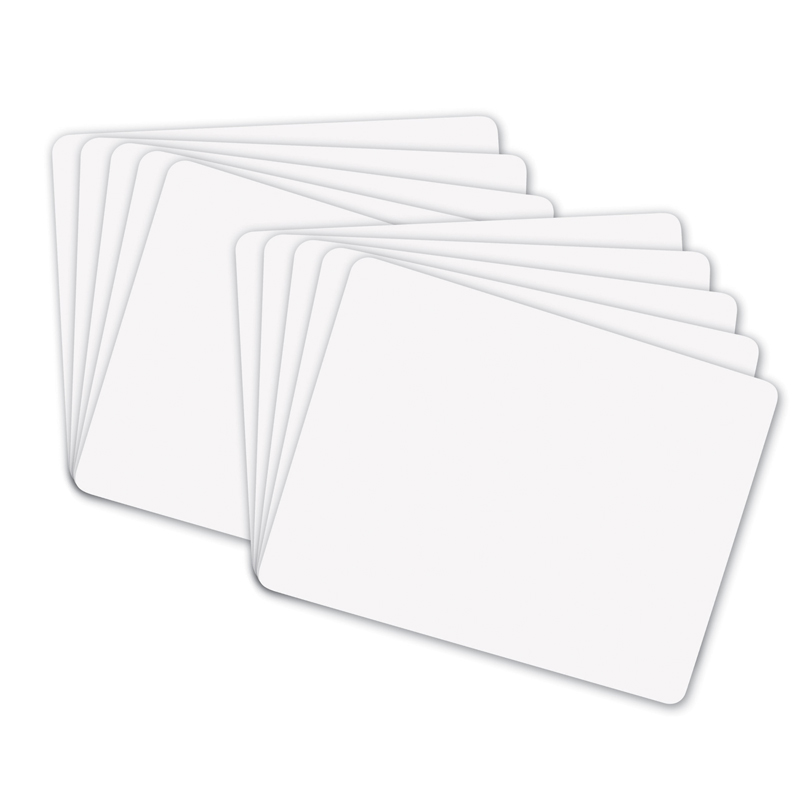 BOARD,DRYERASE,9X12,WE,10PK
