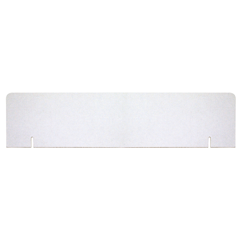 Pacon Corporation Pacon Corrugated Presentation Board Headers - 9.50 Height X 36 Width - White Surface - 24 / Carton