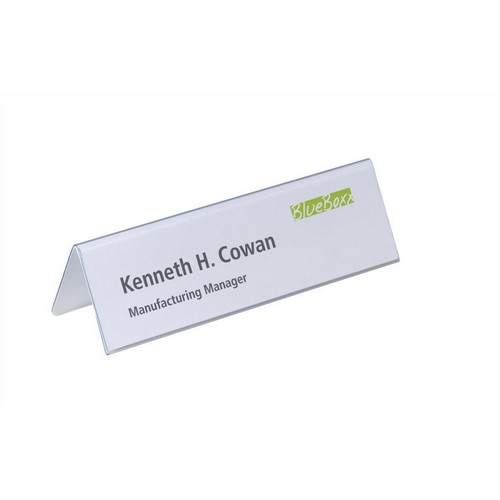 Durable Place Name Inserts 61x210mm Pack 20