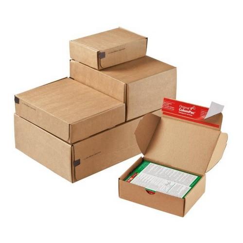 Despatch Box Brown CP 080.04 ID 192x155x43mm Ext 212x161x48mm 20 Per Pack
