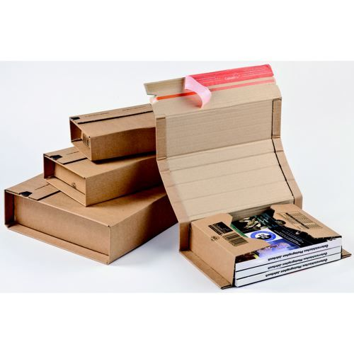 Colompac Postal Wrap CP020.01 Int 147x126x55mm Ext 198x135x63mm Pack 20