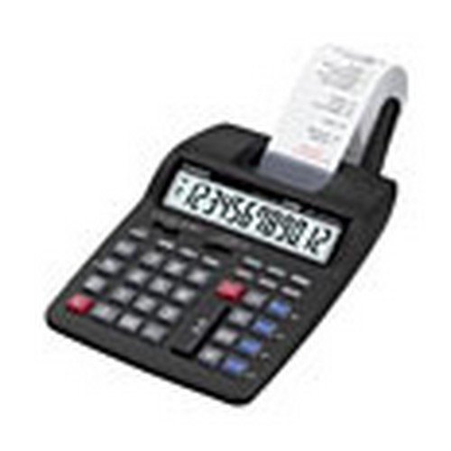 Casio 12-Digit Medium Duty Printing Calculator; Euro Conversion