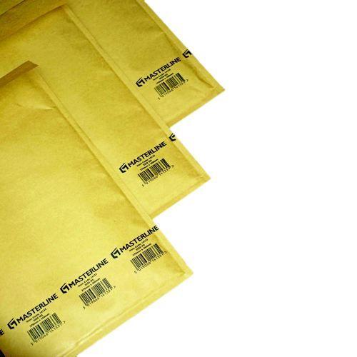 Master In Bubble Mailer B00 White Id-120x215mm Od-140x225mm 200 per Box
