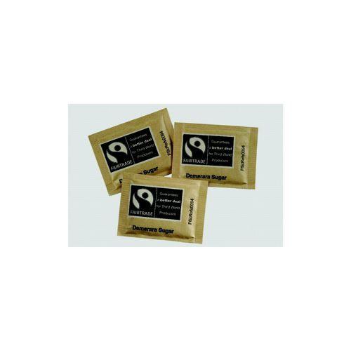 Fairtrade Brown Sugar Sachets Pack 1000