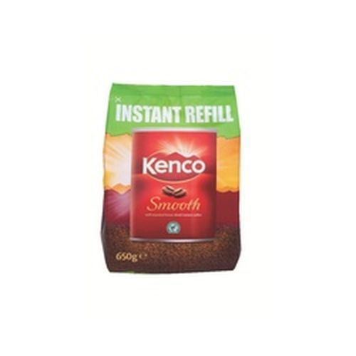Kenco Smooth Coffee 650g Refill Pack