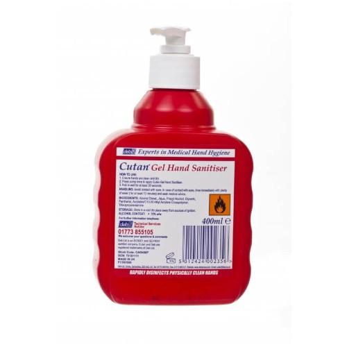 Deb Cutan Foam Sanitiser 400ml Pump
