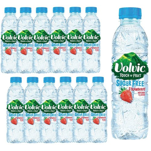 Volvic Touch of Fruit Strawb 500ml Pack 12