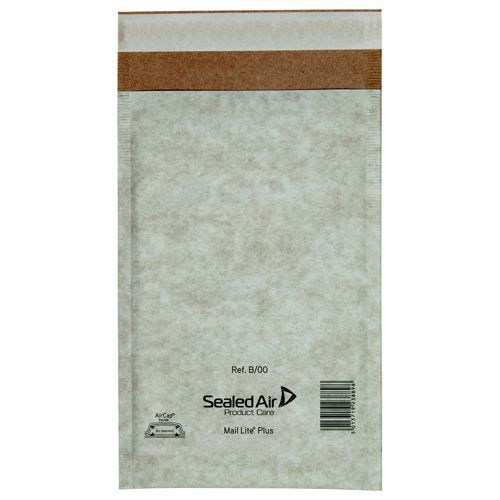 Mail Lite Plus Oyster Postal Bags B/00 120x210mm Internal Pack 100