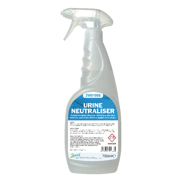 2Work Urine Neutraliser Colourless Trigger Spray 750ml