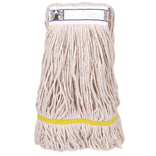 2Work PY Kentucky Mop 340g Yellow (Pack of 5) 103221RD