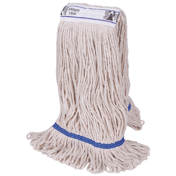 2Work PY Kentucky Mop 340g Blue (Pack of 5) 103221BL