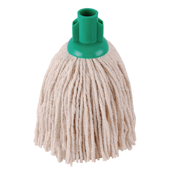 2Work PY Smooth Socket Mop 12oz Green (Pack of 10) 101869G