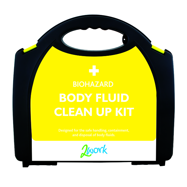 2Work Bio-Hazard Body Fluid Kit with 5 Applications X6080
