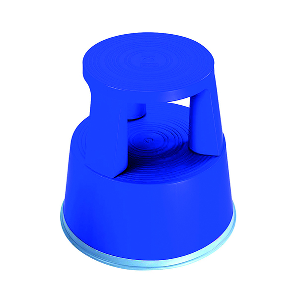 Image for 2Work Plastic Step Stool Blue T7/Blue