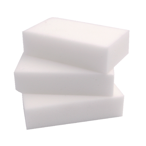 2Work Erase All Sponge 100x60x25mm (Pack of 10) 102429