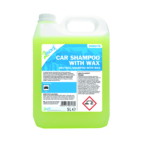 Image for 2Work Car Shampoo with Wax 5L 447
