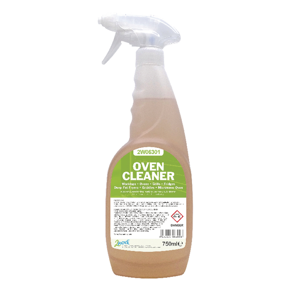 2Work Oven Cleaner 750ml 2W06301