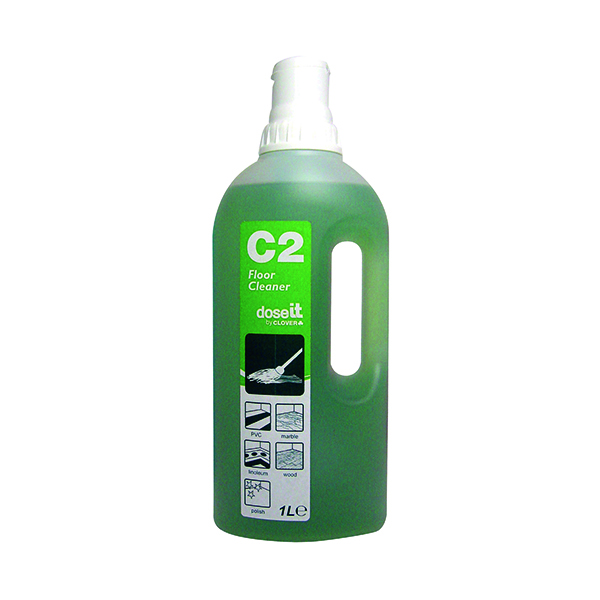 Dose It C2 Floor Cleaner 1 Litre (Pack of 8)