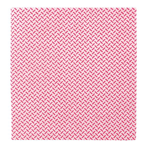 2Work Med Weight Cloth 380x400mm Red (Pack of 5) 103179R