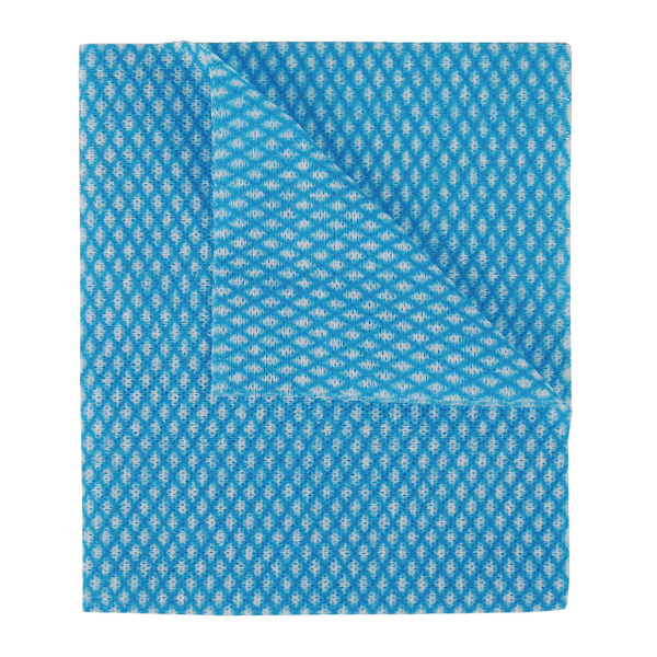 Image for 2Work Economy Cloth 420x350mm Blue (Pack of 50) 104420BLUE