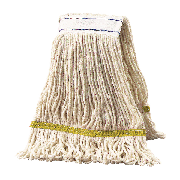 2Work Multi Kentucky Mop 340g Yellow (Pack of 5) 103222Y