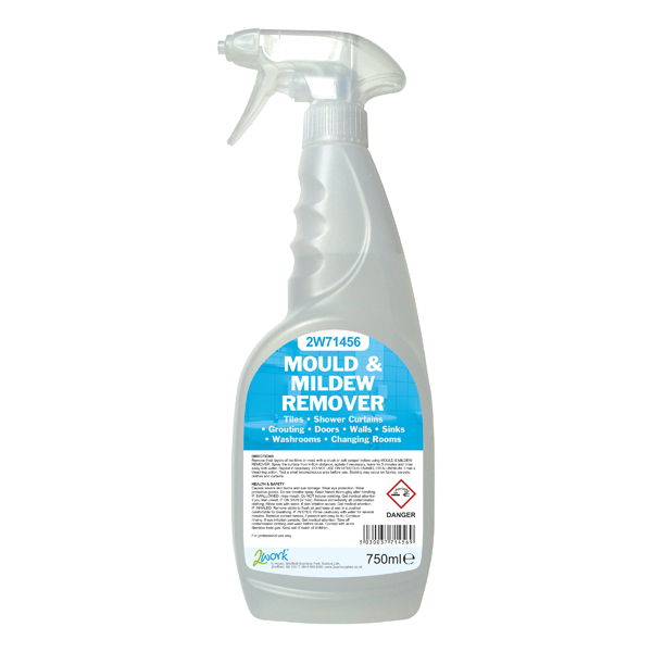 2Work Mould and Mildew Cleaner Trigger Spray 750ml 252