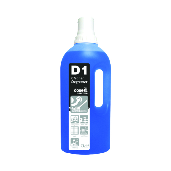 Dose It D1 Cleaner and Degreaser 1 Litre (Pack of 8) 325