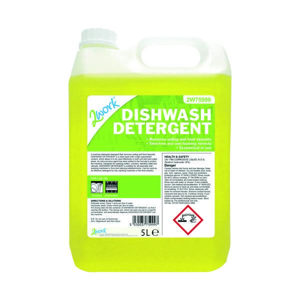 2Work Dishwasher Detergent Anti-Corrosive 5 Litre 314