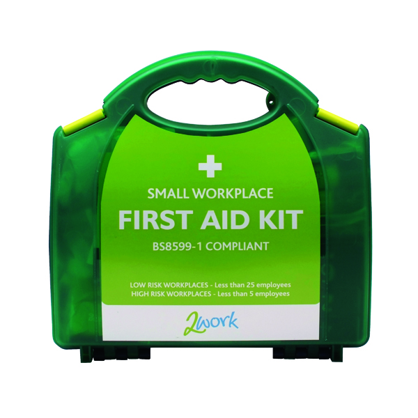 2Work BSI Compliant First Aid Kit Small 2W99437