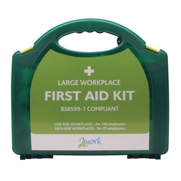 Image for 2Work BSI Compliant First Aid Kit Large 2W99439