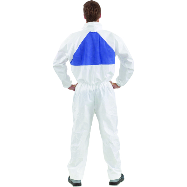 3M Basic Protective Coverall Breathable Large White 4520L