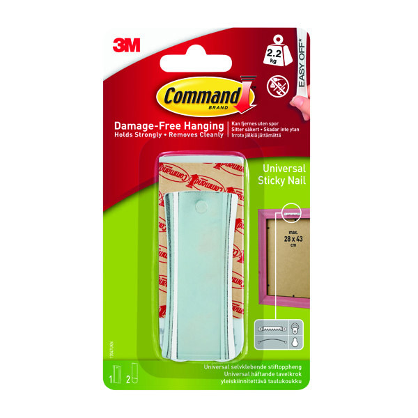 Image for Command Universal Metal Picture Hanger 1HK+2S Large+4S Mini 17047