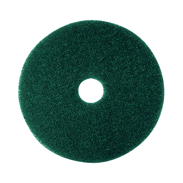 Image for 3M Scrubbing Floor Pad 430mm Green (Pack of 5) 2NDGN17