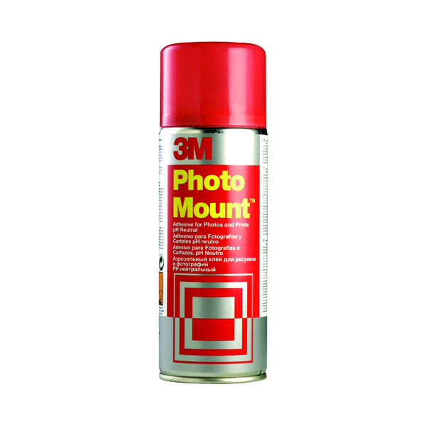 Image for 3M PhotoMount Spray High Strength Adhesive 400ml PHMOUNT