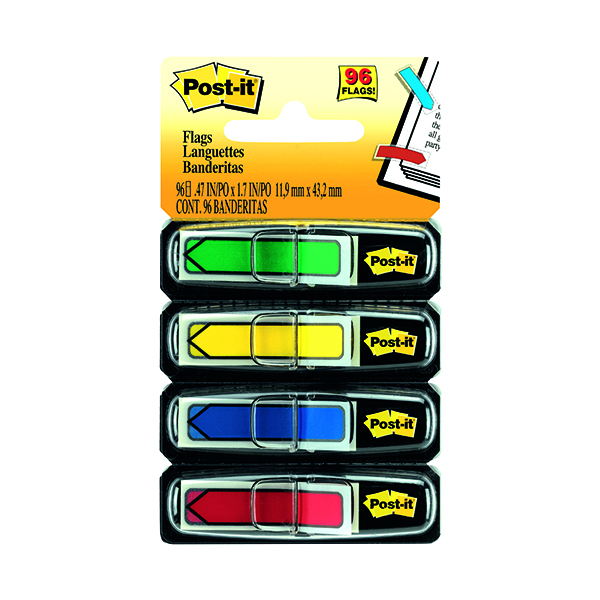 Post-it Index Arrows Standard Assorted (Pack of 96) 684-ARR3