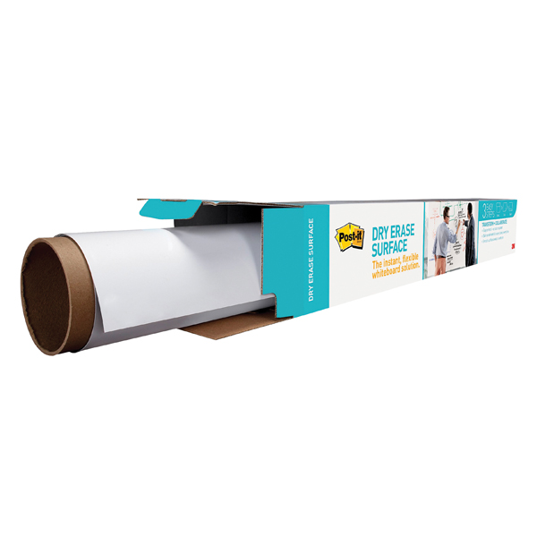 Post-it Super Sticky Dry Erase Film Roll 609x914mm White DEF3X2EU
