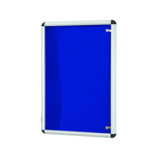 Announce Internal Display Case Lockable 900x600mm