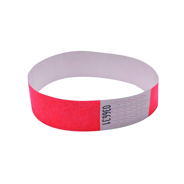 Announce Wrist Band 19mm Coral (Pack of 1000)