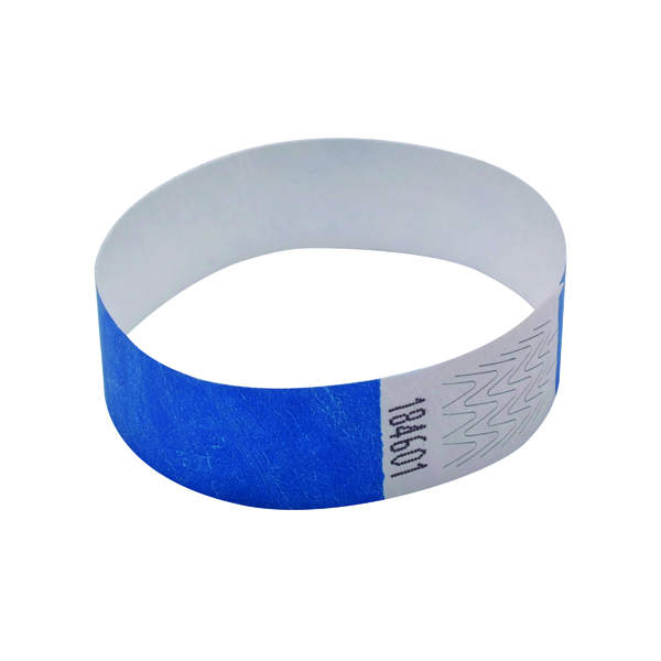 Announce Wrist Band 19mm Blue (Pack of 1000)
