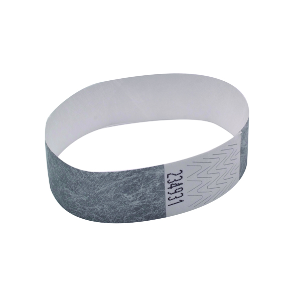 Announce Wrist Band 19mm Silver (Pack of 1000)
