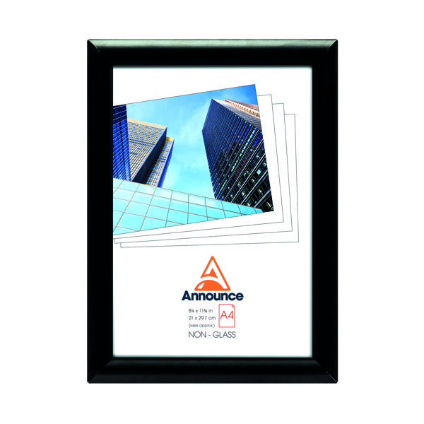 Image for Announce Snap Frame A4 Black AA06222
