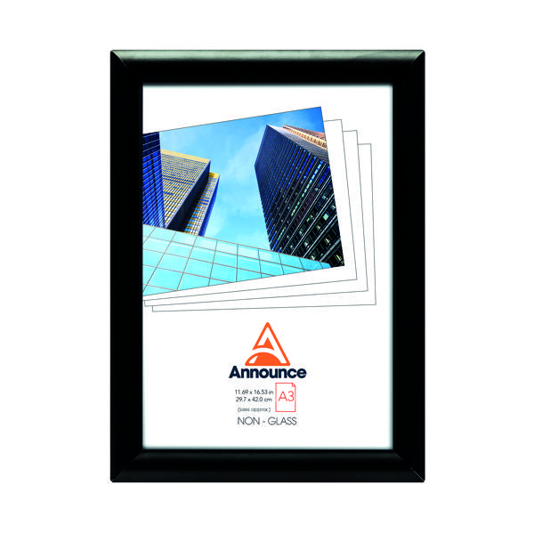 Image for Announce Snap Frame A3 Black AA06223