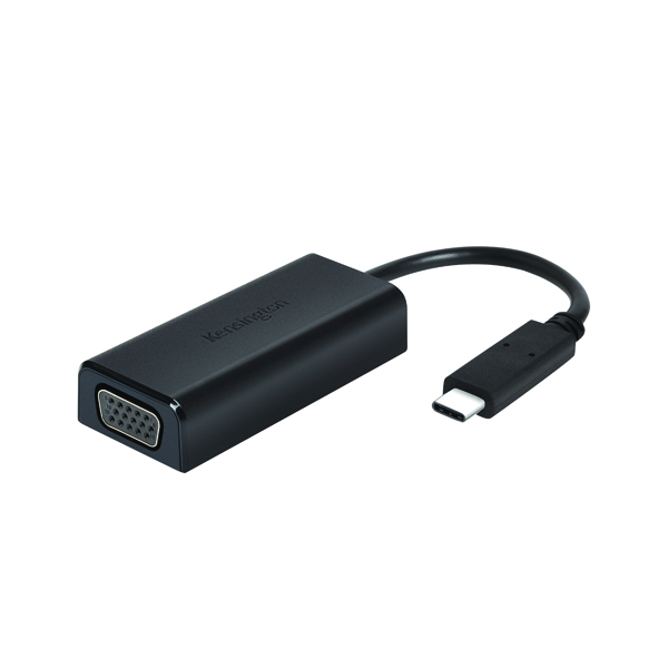 Kensington CV2000H USB-C to VGA HD Video Adapter Black K33994WW