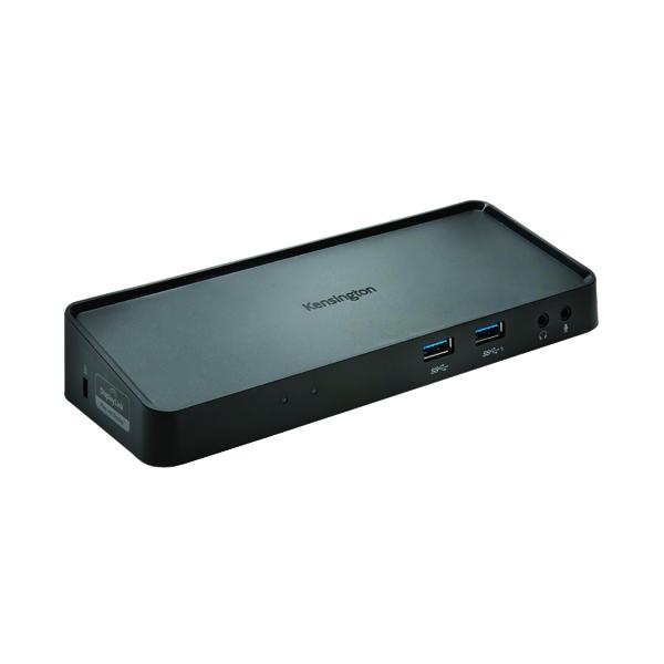 Kensington Universal USB 3.0 Docking Station Black K33997WW