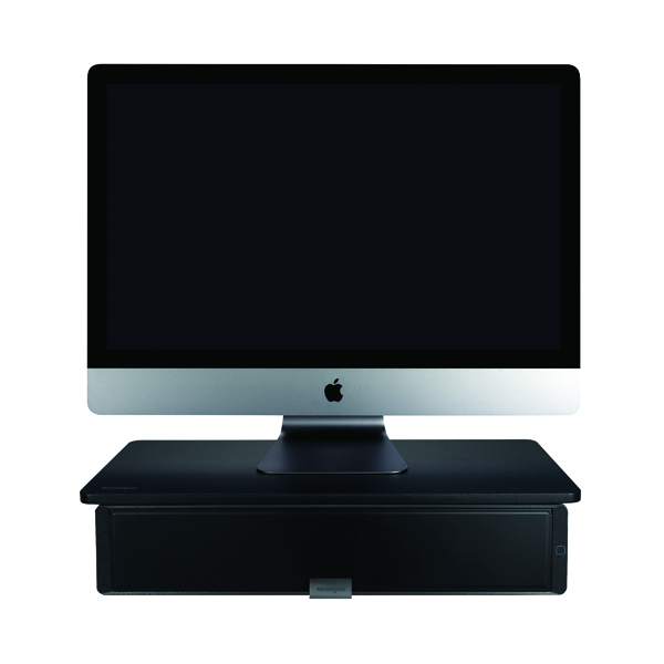 UVStand Monitor Stand with UV Sanitisation Compartment  598 x 295 x 126mm Black K55100WW