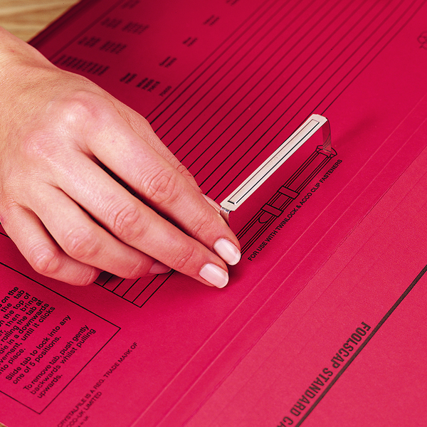 Rexel Fasteners 80x50mm Steel (Pack of 50) 70850