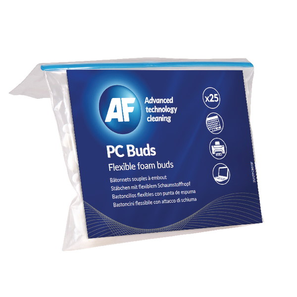 AF PC Foam Buds (Pack of 25) APCB025