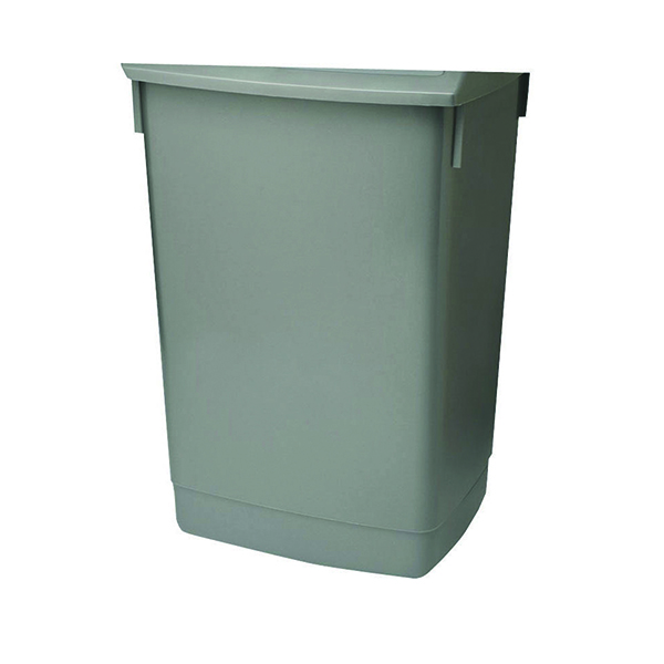 Addis 60 Litre Flip Top Bin Base Metallic (For use with Addis 60 Litre Flip Top Bin) 504896